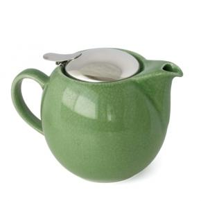 Afbeelding Crackle teapot green