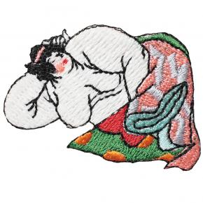 Afbeelding Patch Lazy woman