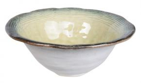 Afbeelding Glassy green Bowl small